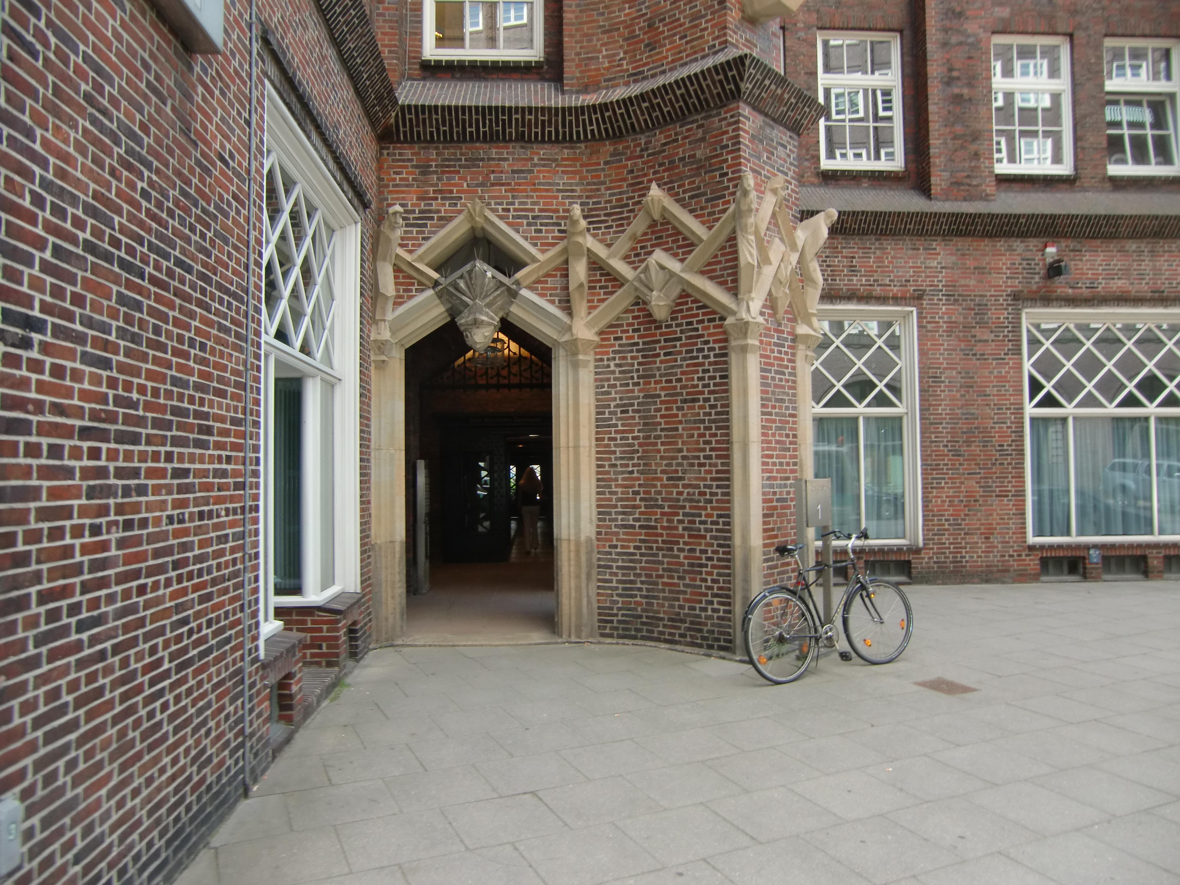 Eingang zur Begegnungsstätte Kontorhaus Messberg